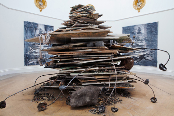 Anselm Kiefer, Ages of the World, 2014.