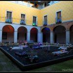 Performance al pati interior del Centre cultural de La Mercè